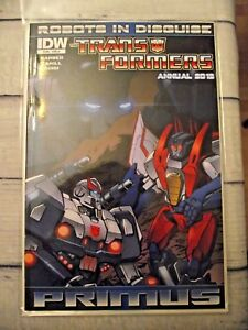 IDW-Robots-in-Disguise-Transformers-Annual-2012-Primus-CVR-A-VF-NM