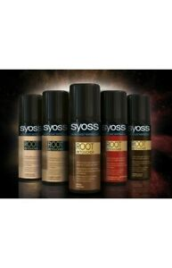 Syoss Root Retoucher Spray Hair Color Dye No Ammonia 120 ...