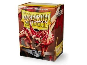 Matte-Ruby-100-ct-Dragon-Shield-Sleeves-Standard-Size-SHIPS-FREE-10-OFF-2