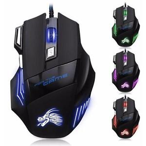 5500-DPI-Gaming-Mouse-7-Buttons-Color-LED-USB-Optical-Wired-For-Pro-Gamer-Best