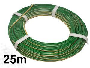 25m !! Litze 3-adrig grün/weiß/gelb 0,52 €/m Modellbahn-Kabel für TRIX Weichen - Feuchtwangen, Deutschland - 25m !! Litze 3-adrig grün/weiß/gelb 0,52 €/m Modellbahn-Kabel für TRIX Weichen - Feuchtwangen, Deutschland
