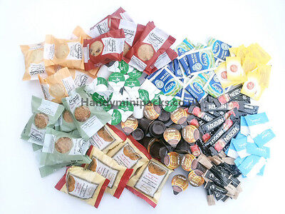 Hotel, Guest House, B&B  Tea / Coffee Sachets & Biscuits Welcome Packs 160 items