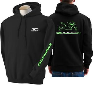 Z1000 de Moto Sudadera Kawasaki sweatshirt Z met Sx fiets voor 1000 capuchon Hoodie 5wIvxHAqWn
