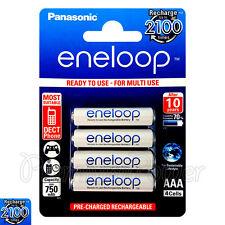 4 x Eneloop AAA batteries 750mAh Rechargeable Ni-MH HR03 Phone 4 Pack BK-4MCCE