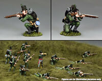 King & Country The Age Of Napoleon Na381 95th Rifles Kneeling Firing