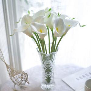 Artificial Calla Lily Wedding Bridal Bouquet Flower Flower