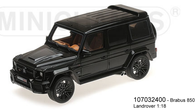Minichamps 107032400 - Brabus 850 6.0 Biturbo Widestar From Basis Mercedes-Benz