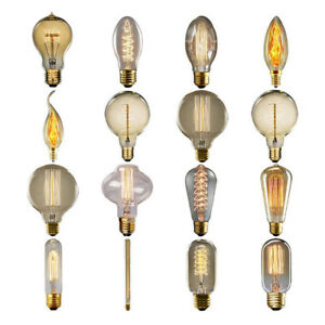 e27 edison vintage led licht lampe filament nostalgie. Black Bedroom Furniture Sets. Home Design Ideas