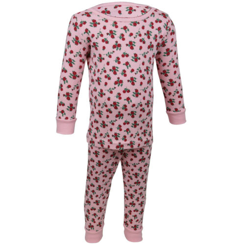 Janie And Jack Rose Print Pajama Set
