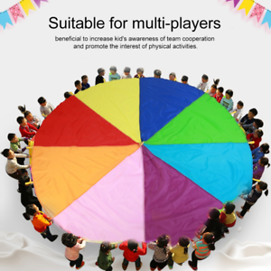 Outdoor-Children-Group-Game-Team-Building-Parachute-Rainbow-Game-Toys-Kids-Adult