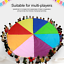 Outdoor-Children-Group-Game-Team-Building-Parachute-Rainbow-Game-Toys-Kids-Adult thumbnail 1