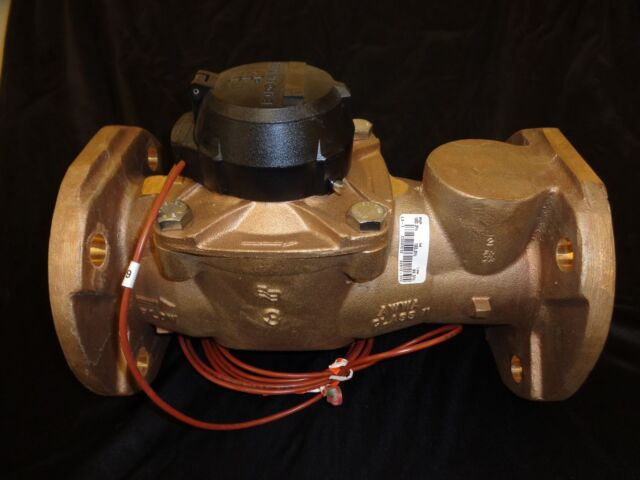 Badger Rt-0300-brnp-nsxts-gaxx 4 Bolt Mechanical Flowmeter 5 to 500 GPM  Turbine