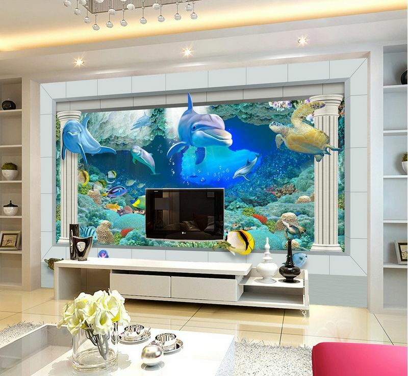 3D Seabed water fish1127 Paper Wall Print Decal Wall Wall Murals AJ WALLPAPER GB