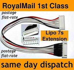 Lipo-Balance-Extension-Charger-Cable-Lead-7s-8-Pin-JST-XH-7-cell-25-9V