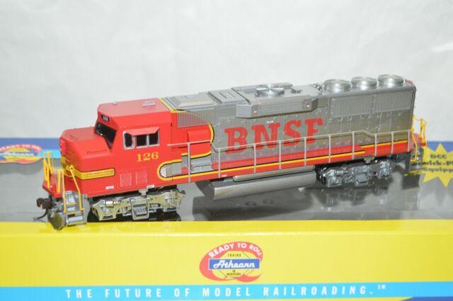 HO Athearn BNSF Burlington Northern Santa Fe Ry EMD GP60M locomotive train