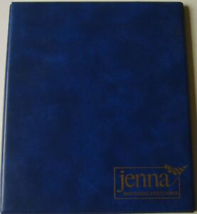 Jenna-Motoring-Postcard-Album-padded-blue-album-for-holding-64-car-post-cards