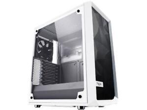 Fractal Design Meshify C White - TG FD-CA-MESH-C-WT-TGC White Steel / Tempered G