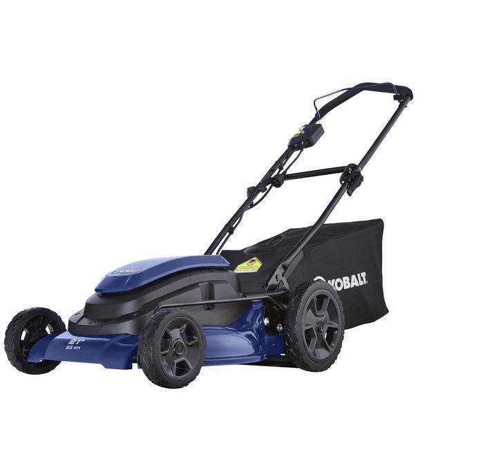 Kobalt Electric Propelled Self Push Walk Behind Lawn Mower