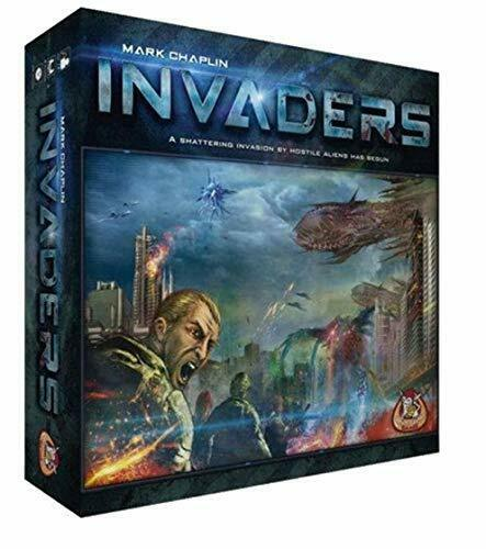 White Goblin Games Invaders Board Board Board Game f308c1