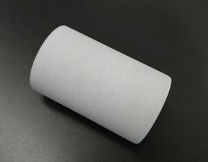 Verre Abat-Jour de Rechange Cylindre Blanc Mat avec des Rayures ...
