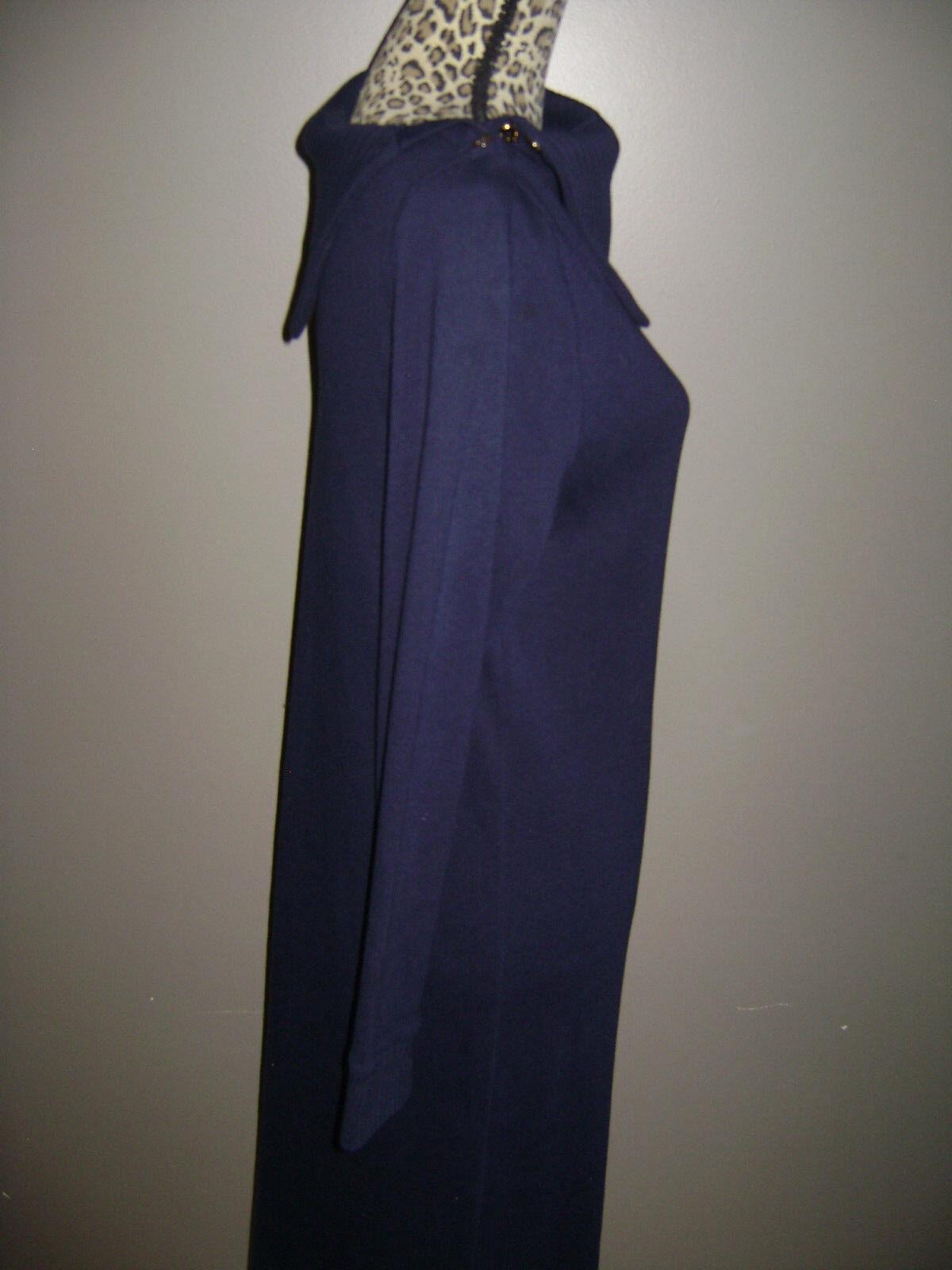 RALPH LAUREN WOMEN LONG SLEEVE DRESS size S BLUE … - image 7