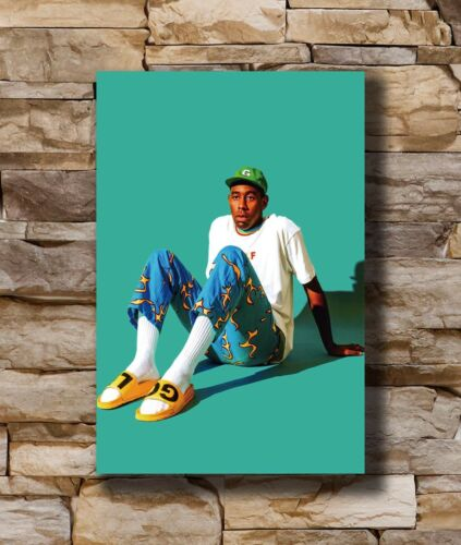 Hot Tyler The Creator Odd Future Custom Singer Star Art Poster 12x18 24x36 T4478