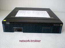 Cisco 2921/K9 2GB RAM / 1GB Compact Flash  mit Funktionsprotokoll