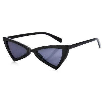 Vintage Triangle Cat Eye Sunglasses Women Fashion Anti-UV Glasses Retro  Eyewear