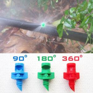 25x-Sprinkler-System-90-180-360-Micro-Drip-Spruehduese-Garten-Bewaesserung-Nebel