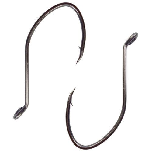 Lots High Carbon Steel Fishing Hooks Black Gap Catfish Saltwater Bait Fishhooks
