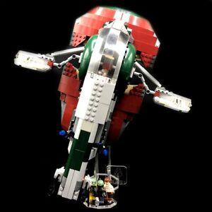 Acryl-Display-Stand-Acrylglas-Standfuss-fuer-LEGO-8097-Slave-I