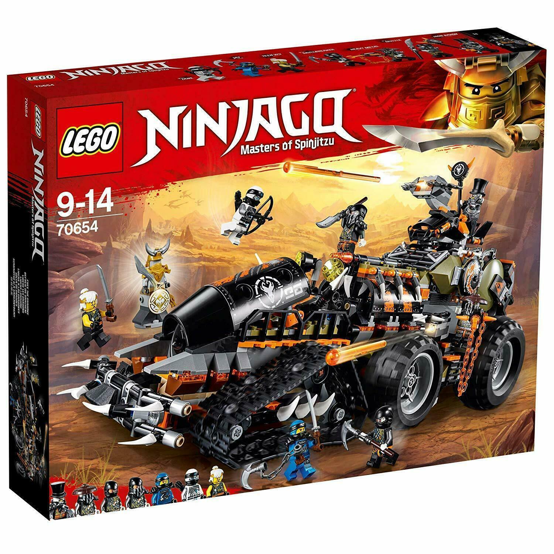 LEGO  ® Ninjago ® 70654  Dragon-Attrapeur  Fer-Baron Heavy Metal Nouveau Neuf dans sa boîte nouveau En parfait état, dans sa boîte scellée  bon shopping