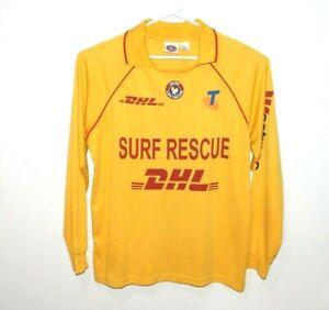 Surf-Rescue-Surf-Life-Saving-Super-Rare-Long-Sleeve-Sun-Shirt-Size-Men-039-s-2XL