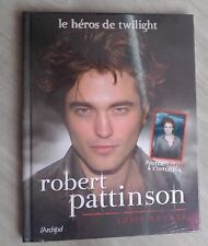 robert pattinson le heros de twiligth