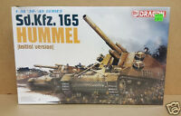 Dragon 6150 Sd.kfz. 165 Hummel Initial Version 1/35 Scale Military Kit