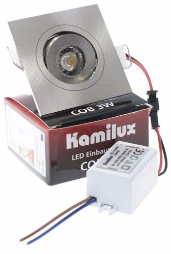 Mini-LED 230V LED COB 3W Einbaustrahler Einbauspots Deckenspots Deckenlampe IP20