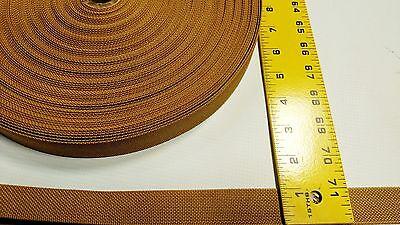 "British Khaki 2/"" Inch Military Spec Webbing 5 Yard Roll Fabric Outdoor Camo #259"