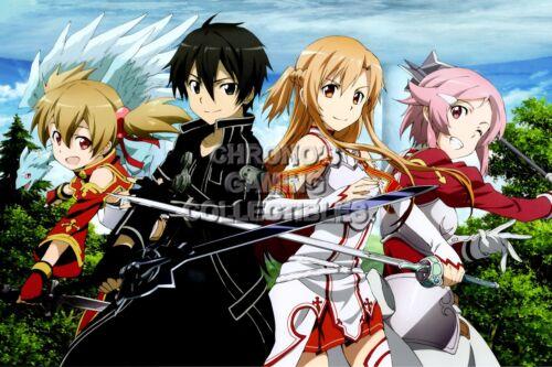 Sword Art Online SAO Anime Poster Glossy Finish SAO013 RGC Huge Poster