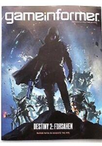Details About Game Informer Magazine August 2018 Issue 304 Destiny 2 Forsaken New