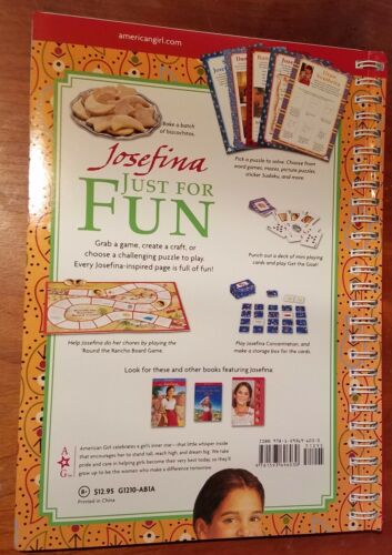 solve-it New American Girl Josefina Just For Fun Activity Book Make-it play-it