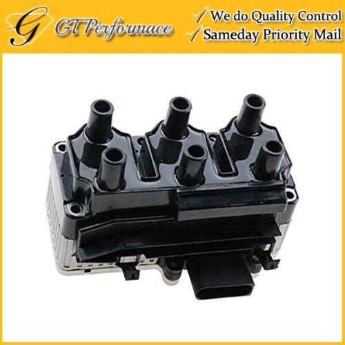 OEM Quality Ignition Coil for 1999-2003 Volkswagen Golf// 1999-2001 Jetta 2.8L V6