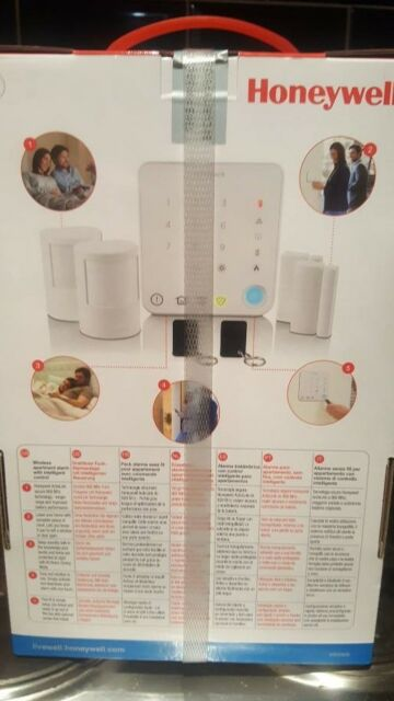 Honeywell Wireless Apartment Alarm with Intelligent Control - HS330 - New Boxed