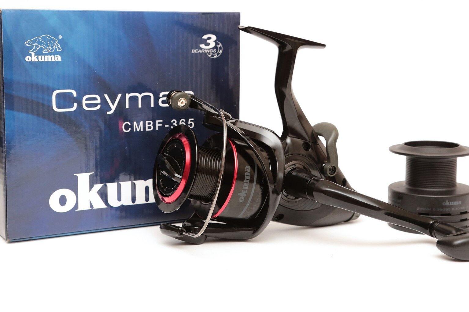 Okuma CEYMAR CMBF-355 Baitfeeder Carp   Sea Reel -  With Spare Spool - 54204  the cheapest