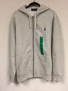 24a8c1e54f9e Details about New Polo Ralph Lauren Men s Core Full Zip Hooded Thick Fleece  Sweater  98 XL