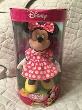 Disney Minnie Mouse Porcelain Doll - Brass Key - Celebrating 25 Years.