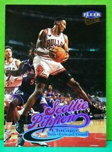 Scottie Pippen regular card 1998-99 Fleer Ultra #100