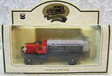 Lledo Chevron Zerolene 1911 Chain Drive Tank-Truck Die-Cast Car England Box Wear