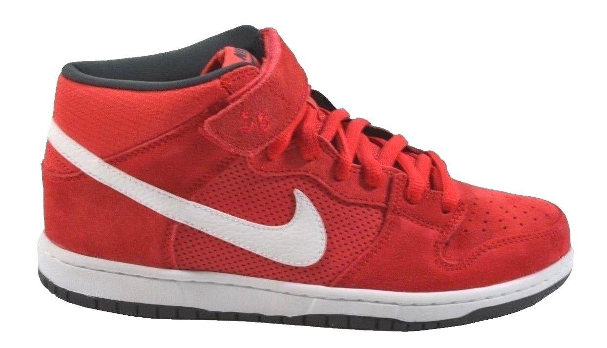 Nike e bianco, metà pro sb iper - bianco, e rosso 314383-610 antracite (233), scarpe da uomo 853c52