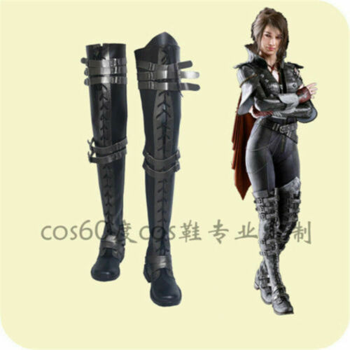 Final Fantasy XV Crowe Altius Cosplay Shoes Cos Shoes Boots Kingsglaive