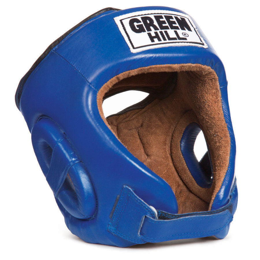 Grünhill boxing head guard five star cow hide Leder protective gear safety